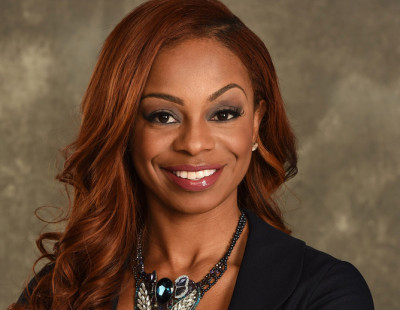 Bristol, CT - April 3, 2015 - Photo Studio: Portrait of Josina Anderson (Photo by Joe Faraoni / ESPN Images)