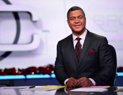 Los Angeles, CA - December 16, 2014 - LAPC: Stan Verrett on the set of SportsCenter (Photo by Kohjiro Kinno / ESPN Images)