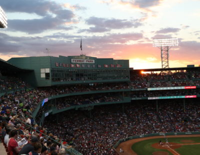 Boston, MA - August 28, 2016: Fenway Park home of the Boston Red Sox during a regular season game (Photo by Allen Kee / ESPN Images)