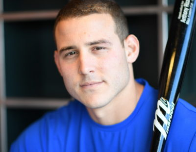 San Francisco, CA - May 20, 2016 - AT&T Park: Portrait of Anthony Rizzo (44) of the Chicago Cubs (Photo by Scott Clarke / ESPN Images)