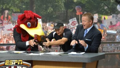 Photo of Kirk Herbstreit GameDay Selection Reactions (2012)