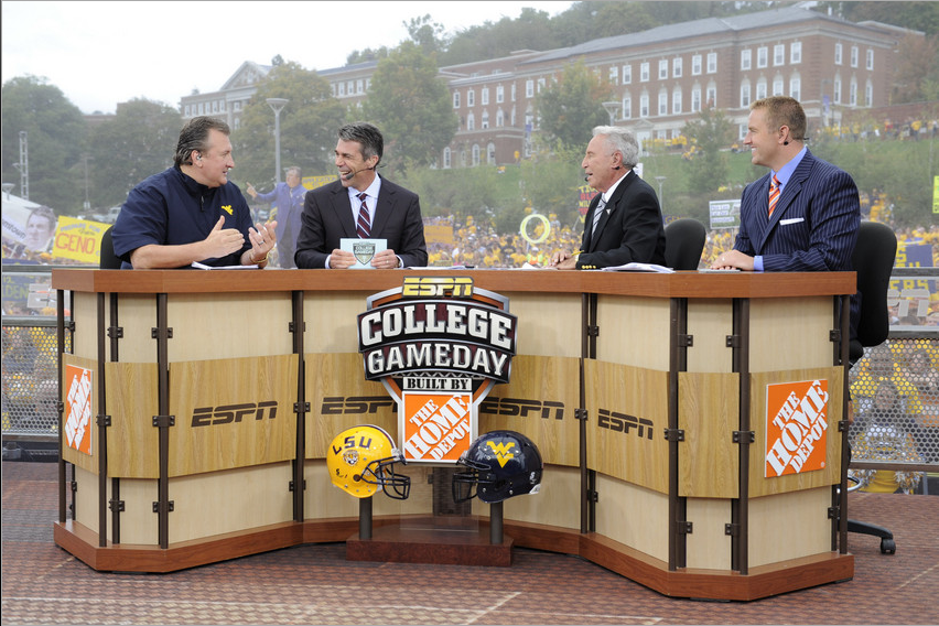 football schedule for this week espn game day