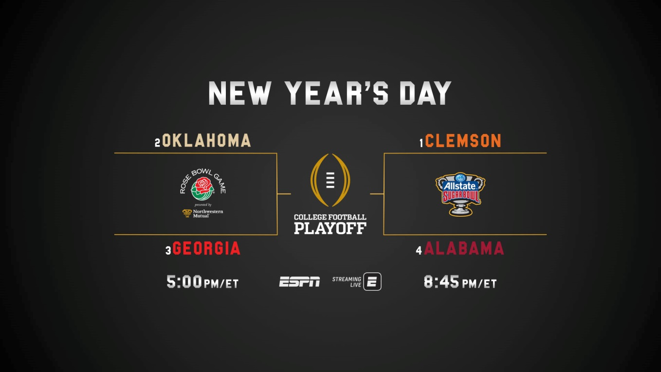 Espn S Exclusive Presentation Of The College Football