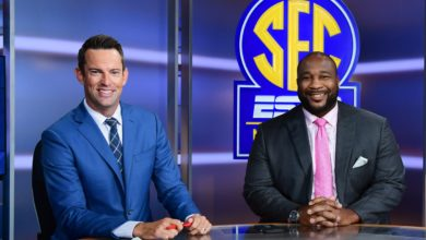 Photo of SEC Network Reporting from all 14 SEC Football Pro Days