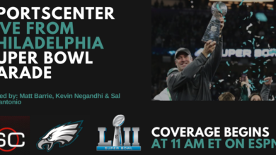 Photo of ESPN to Air Live Coverage of Philadelphia Eagles' Super Bowl Victory Parade