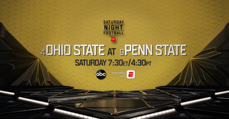 1d066d71 ABC's Saturday Night Football Features Season's First Top 10 ...