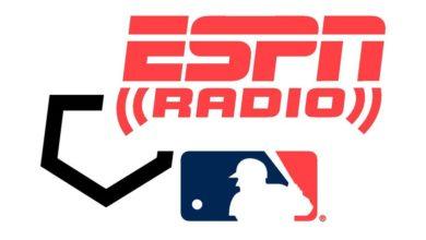 MLB ESPN Radio Logo