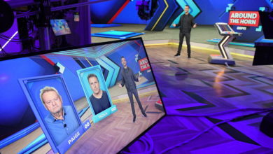 "Photo of ESPN's Around the Horn Celebrates Its ""Sweet 16"" with a Brand New Look"