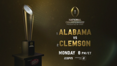 Photo of ESPN's Four-Day, On-Site Studio Coverage of the College Football Playoff National Championship Begins Today