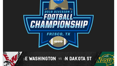 Photo of 2019 NCAA Division I Football FCS Championship from Frisco, Texas; January 5 on ESPN2
