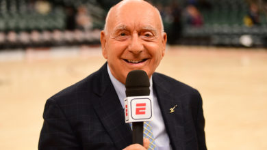 Photo of Dick Vitale to Receive Lifetime Achievement Award at the 40th Annual Sports Emmy Awards