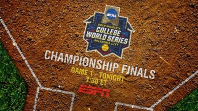 Photo of ESPN Presents No. 1 Oklahoma vs. No. 2 UCLA in Best-of-Three Women's College World Series Championship Finals Capping Event's Largest Production Ever