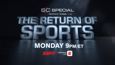 Photo of ESPN to Host Two-Hour SportsCenter Special: The Return of Sports with Professional Team Sports League Commissioners on Monday