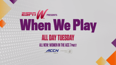 Photo of ACC Network Set for 24-Hour Marathon of Women's Sports in Conjunction with espnW Presents: When We Play, A Multi-Platform Event, June 23