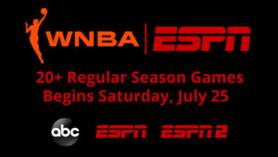 Photo of ESPN Announces WNBA Schedule; Ionescu's Professional Debut Tips-Off Slate on Saturday, July 25