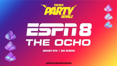 Photo of ESPN Celebrates Four Years of ESPN 8: The Ocho by Streaming in Fortnite's Party Royale on August 8