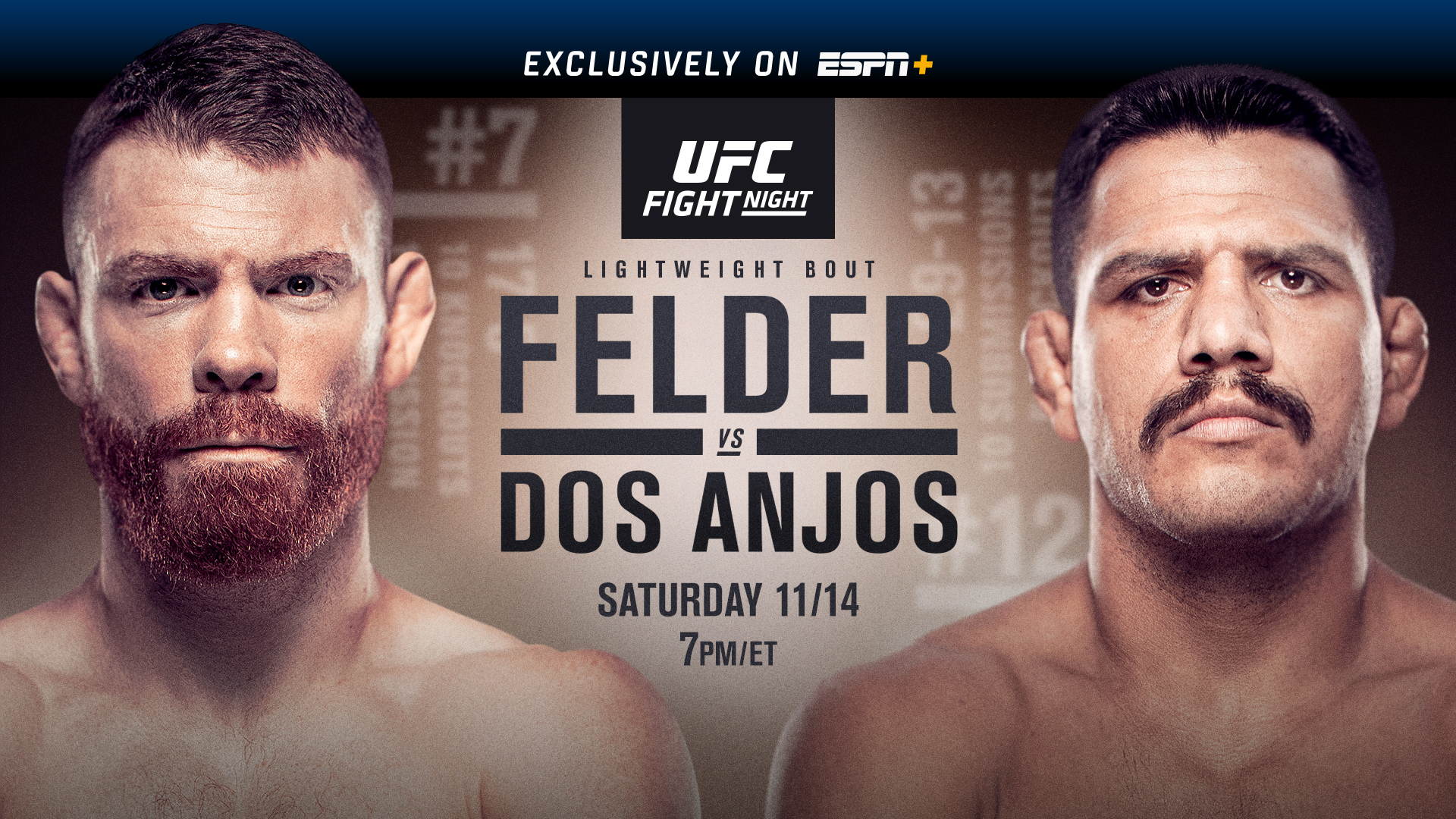 Watch UFC Fight Night 183: Felder vs. dos Anjos 11/14/20