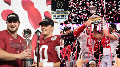 Photo of College Football Playoff Semifinals Average 19 Million Viewers, ESPN's Third-Most Watched Day on Record