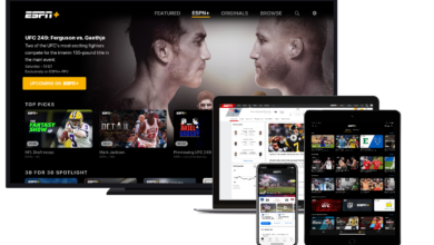 Photo of ESPN Digital in 2020: 34 Straight Months at No. 1, ESPN App Grows Leadership Position by 42 Percent, ESPN+ Tops 11.5 Million Subscribers, Social Climbs to No. 1 for Best Year on Record