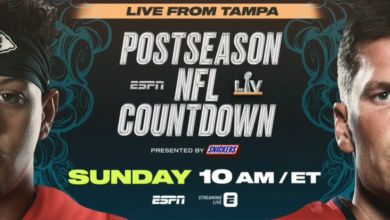 Photo of ESPN Previews Super Bowl LV on a Special Edition of Postseason NFL Countdown