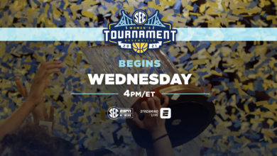 Photo of SEC Network Tips Off Tournament Season with More Than 60 Hours of Champ Week Programming Surrounding SEC Women's and Men's Basketball Tournaments