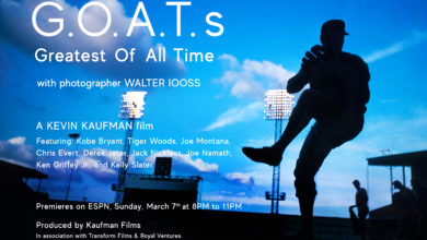 Photo of ESPN to Debut Documentary Series GOATs: The Greatest of All Time Exploring Athletes Through Lens of Award-Winning Photographer Walter Iooss March 7