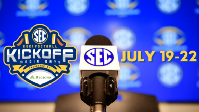 Photo of SEC Network Highlights 2021 SEC Kickoff Presented by Regions with Expansive Programming Slate