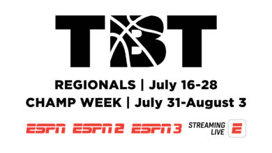Photo of ESPN Announces Schedule and Commentators for TBT 2021, Tipping Off Friday