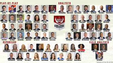 Photo of ESPN Kicks Off Industry-Leading College Football Coverage for 2021-22 with Marquee Matchups and Dynamic Commentator Teams in Week 1