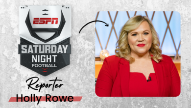 Photo of Versatile ESPN Veteran Holly Rowe Named to ABC Saturday Night Football Commentating Team