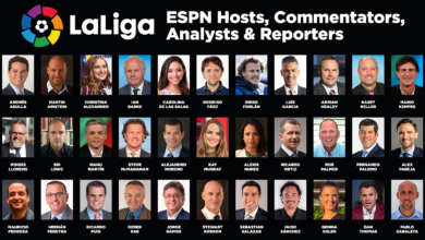 Photo of ESPN Assembles an All-Star Roster of Hosts, Commentators, Analysts and Reporters for LaLiga Santander Coverage