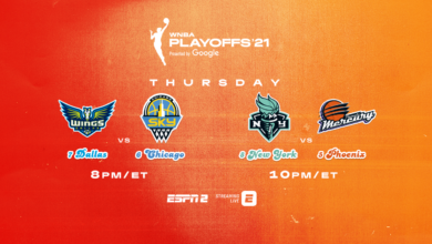 Photo of ESPN is Again the Exclusive Home to the WNBA Playoffs Presented by Google