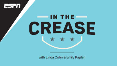 Photo of Linda Cohn & Emily Kaplan Launch In The Crease – The ESPN NHL Podcast on Sept. 20