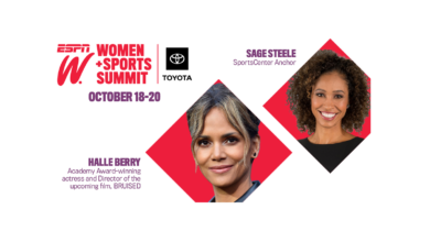 Photo of espnW Announces Academy Award-Winning Actress Halle Berry as Headliner for the Annual espnW: Women + Sports Summit, presented by Toyota