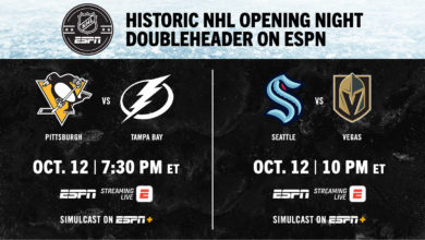 Photo of The Walt Disney Company Announces 103 Exclusive NHL Games Across ESPN, ESPN+, Hulu and ABC Beginning October 12