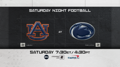 Photo of ABC's Saturday Night Football Set for State College, 14 Ranked Teams Featured Across ESPN Platforms