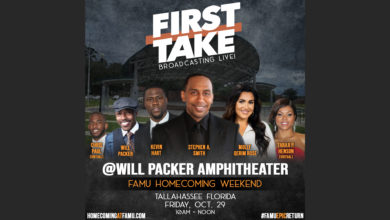 Photo of Star-Studded Celebrity Guest Lineup Headlines First Take's Road Show from Florida A&M on Friday